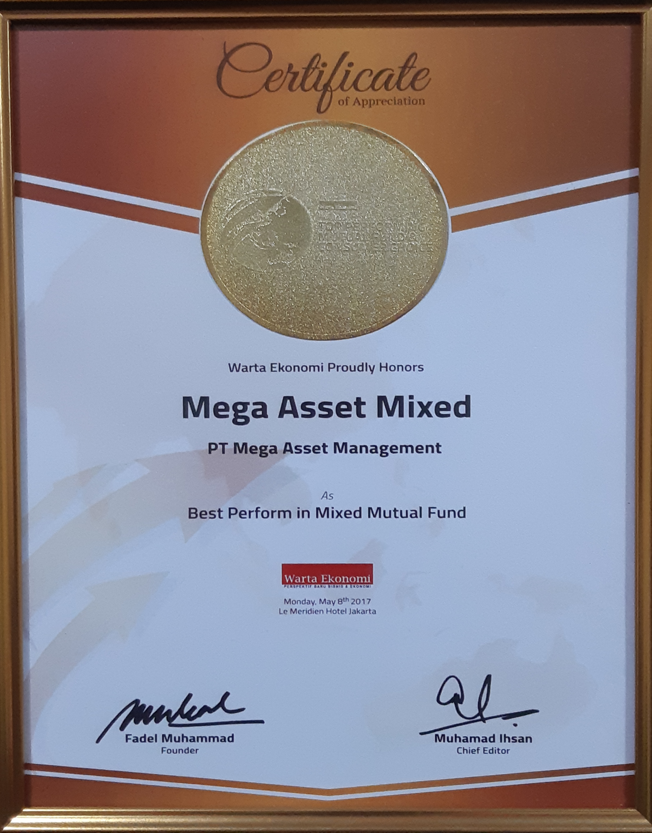 Best Performance in Mixed Mutual Fund